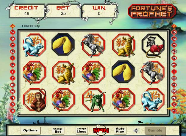 Fortunes Prophet slots game gameplay