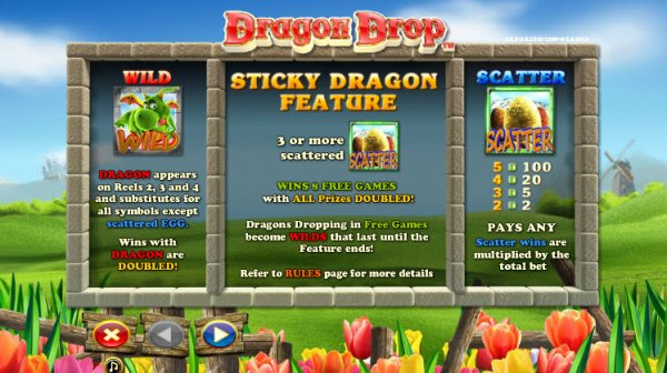 dragon drop gameplay
