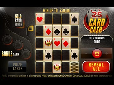 25 Card Cash online slots game gameplay