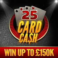 25 Card Cash Win image