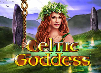 Celtic Goddess Slot Logo