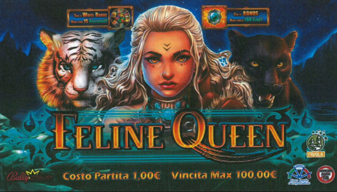 Feline Queen online slots game