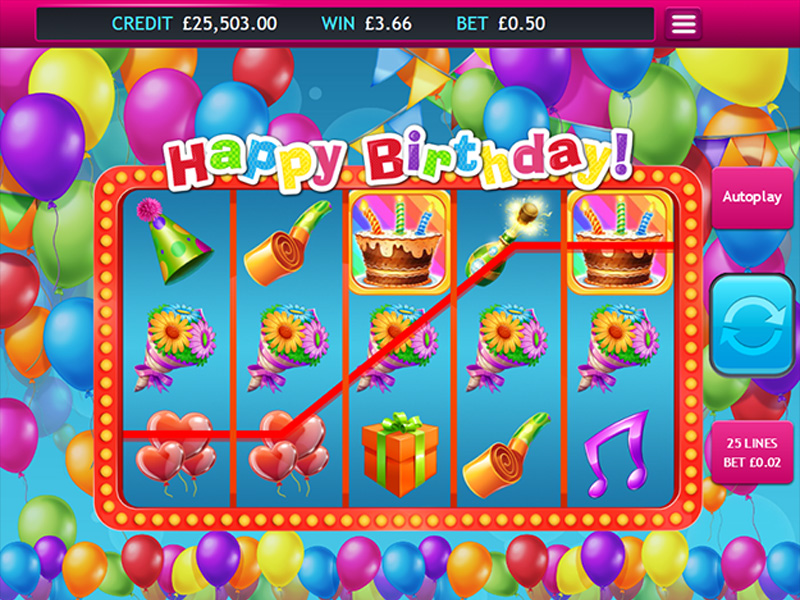 Happy Birthday Jackpot ingame 2