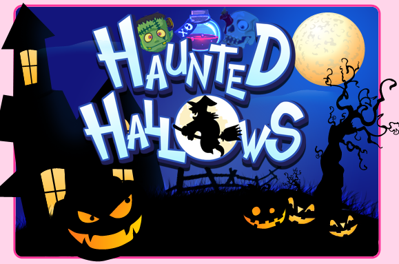 Haunted Hallows logo