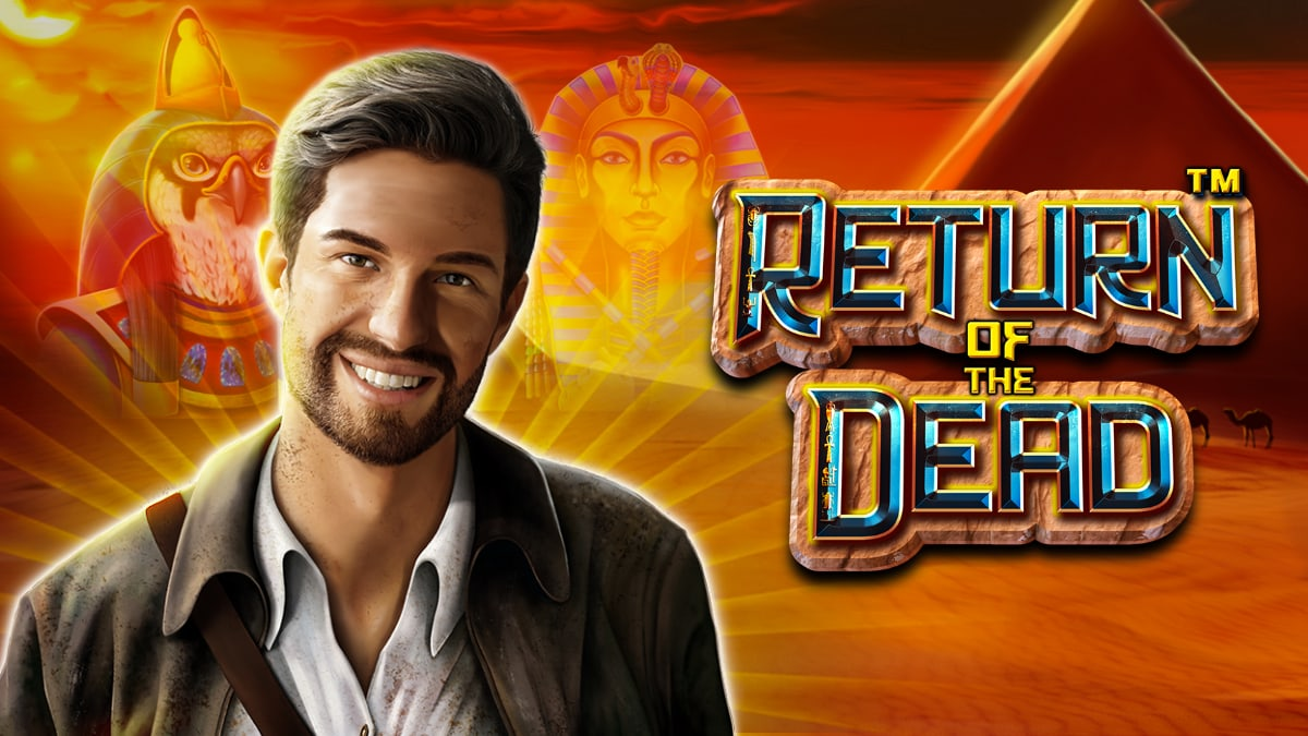 Return of the Dead Slot Logo Easy Slots