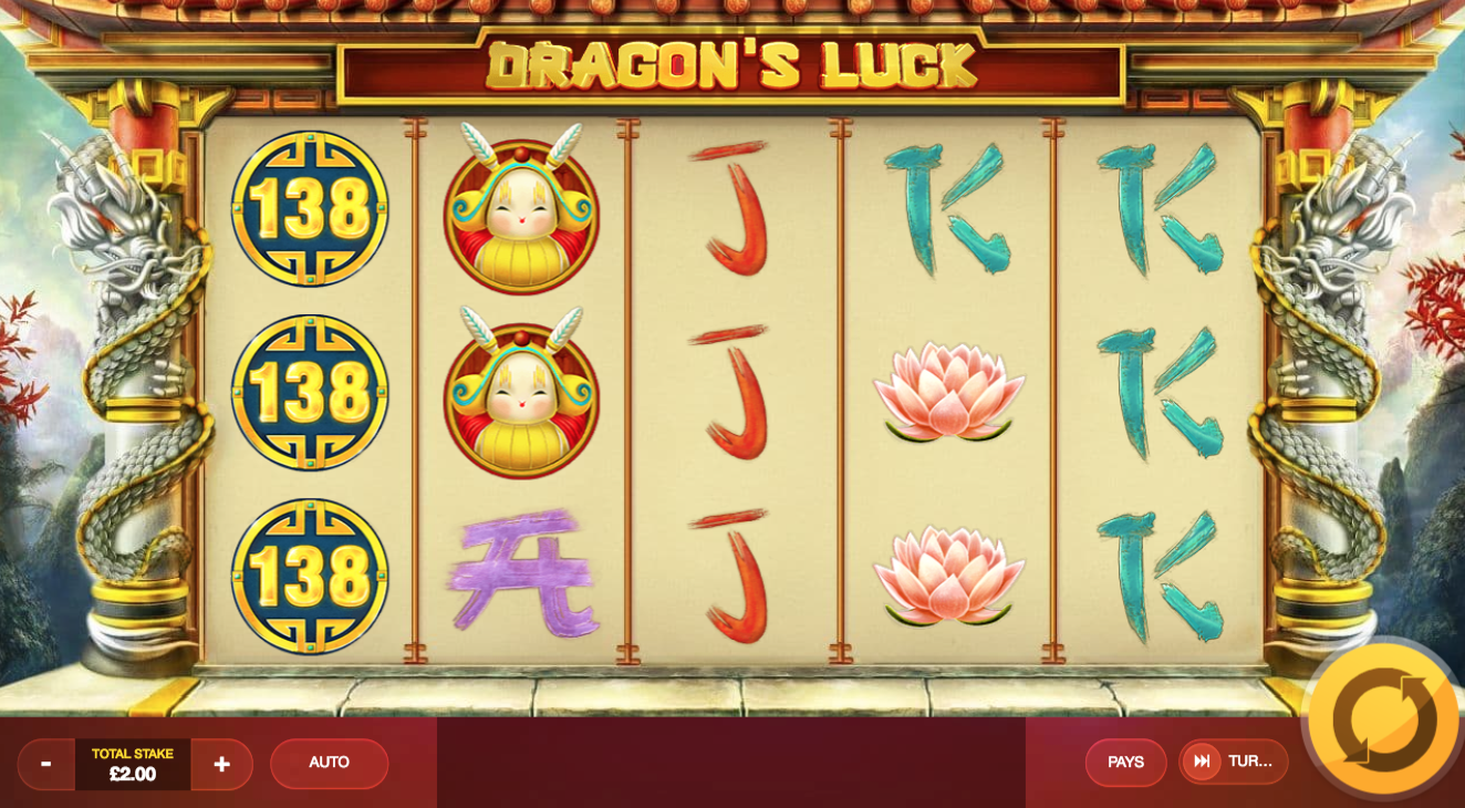 dragons luck game