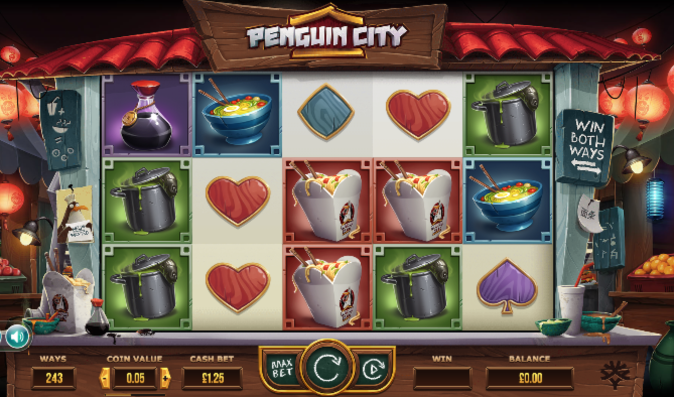 penguin city game