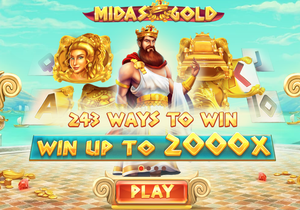 midas gold play slots