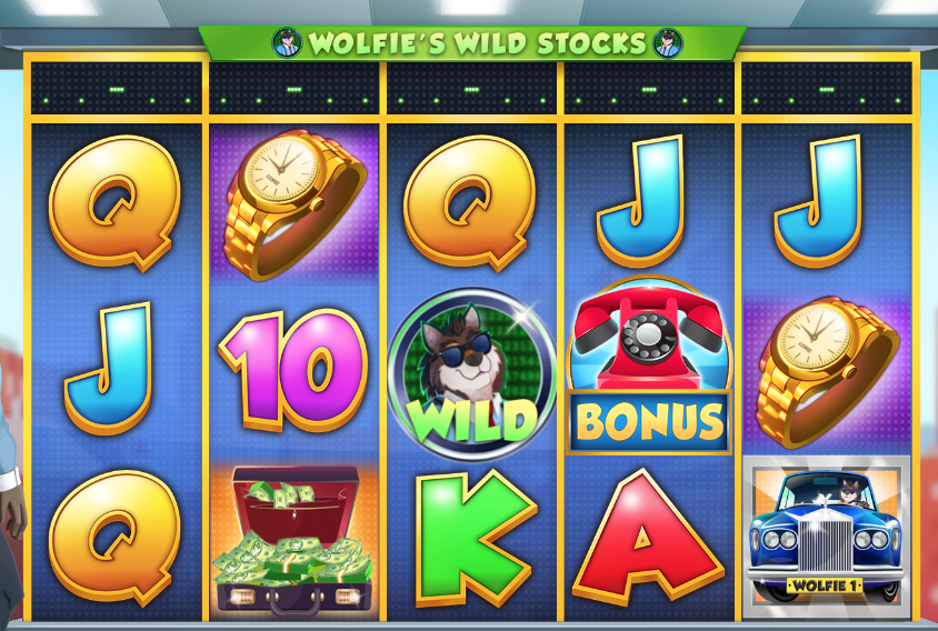 wolf on win street game slots