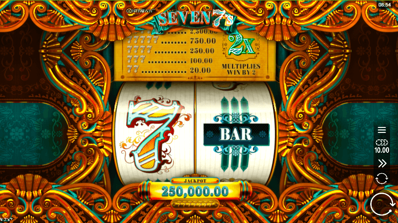 Seven 7s Slot Gameplay