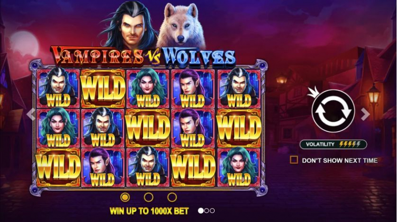 Vampires vs Wolves Casino Game