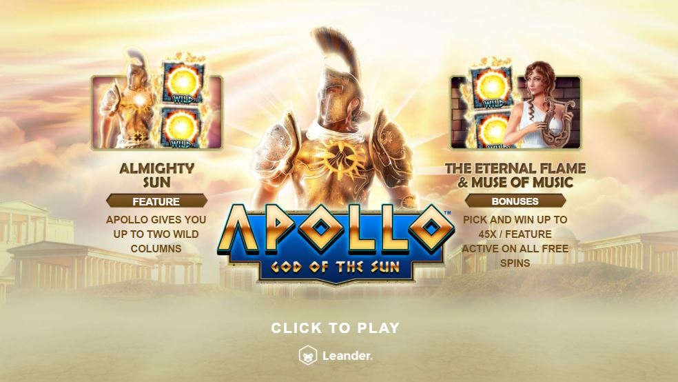 Apollo God of Sun Introduction