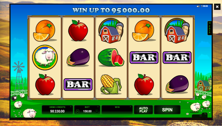 Bar Bar Black Sheep slots gameplay