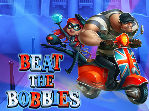 Beat the Bobbies Slots game logo