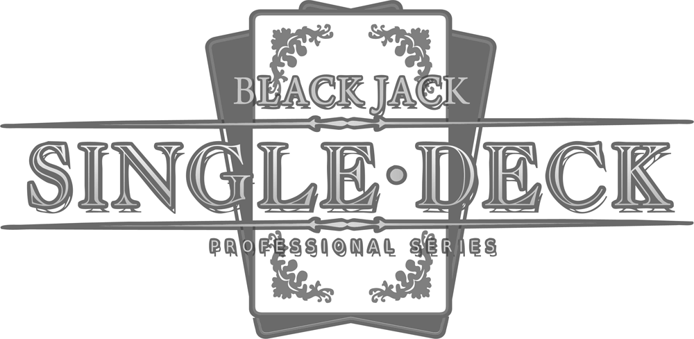 Single Deck Blackjack logo