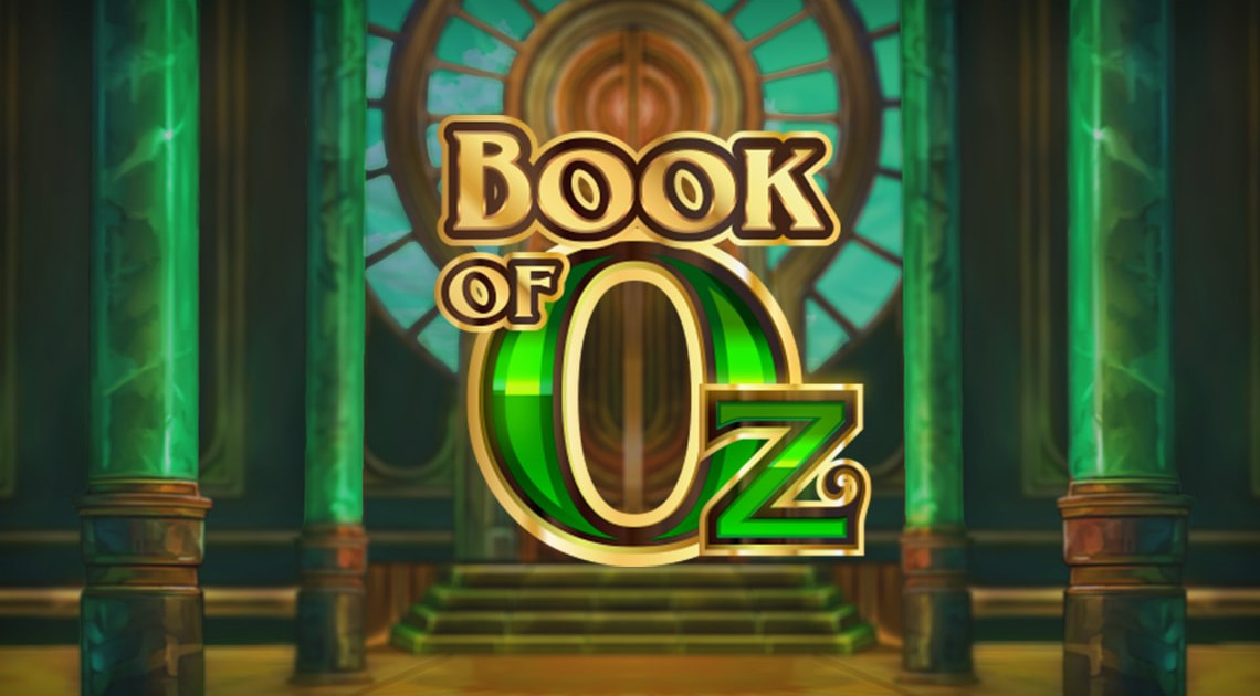 Book Of Oz online slot Game Logo