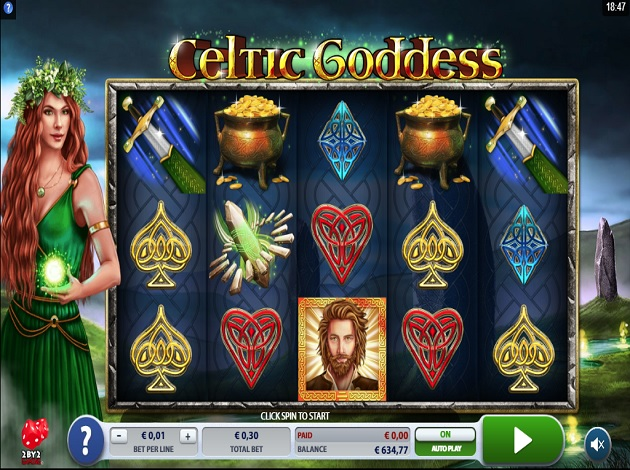 Celtic Goddess Gameplay Casino