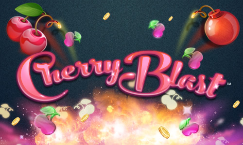 Cherry Blast Slots game logo