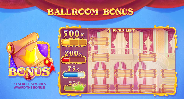 Cinderellas Ball Bonus
