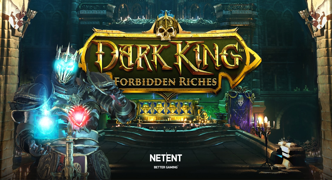 Dark King: Forbidden Riches Slot Logo Easy Slots