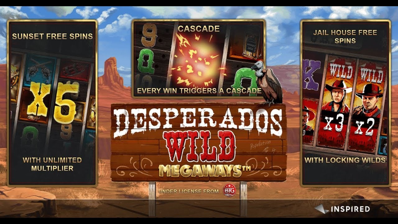 Desperado Wild MegaWays Bonus Features
