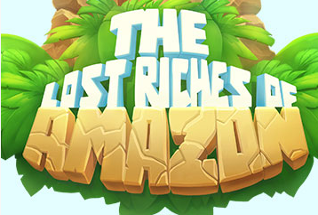The Lost Riches of Amazon online slots game logo