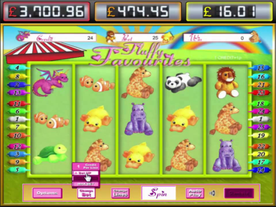 Fluffy Favourites Jackpot Gameplay