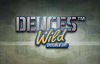 Deuces Wild Double Up online slots game logo