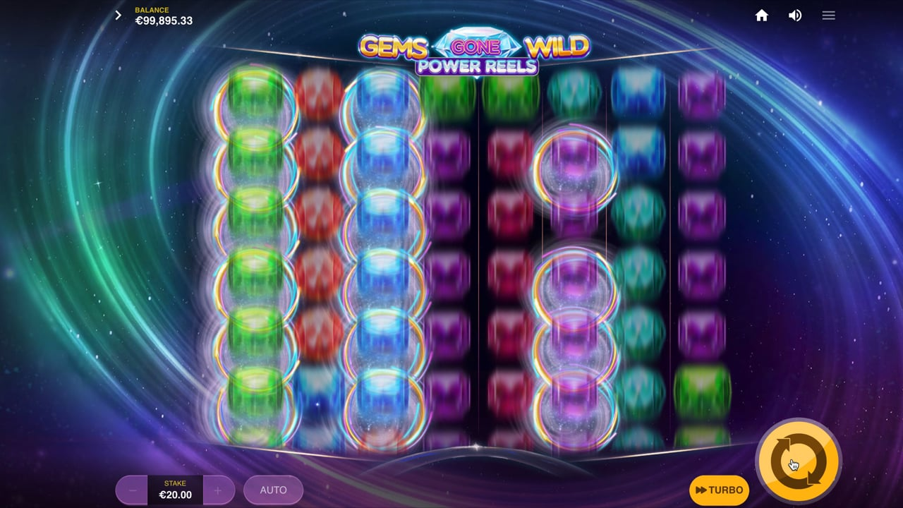 Gems Gone Wild Power Reels Free Slots