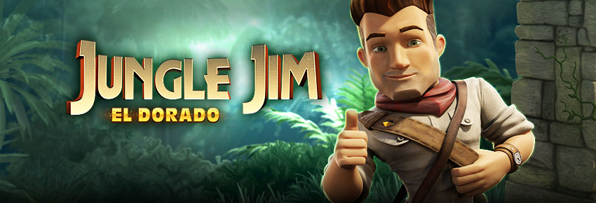 Jungle Jim El Dorado online slots game logo