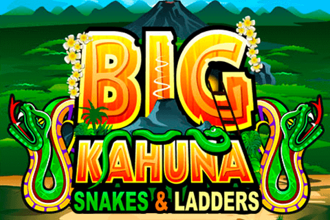 Big Kahuna Snakes & Ladders slots game logo