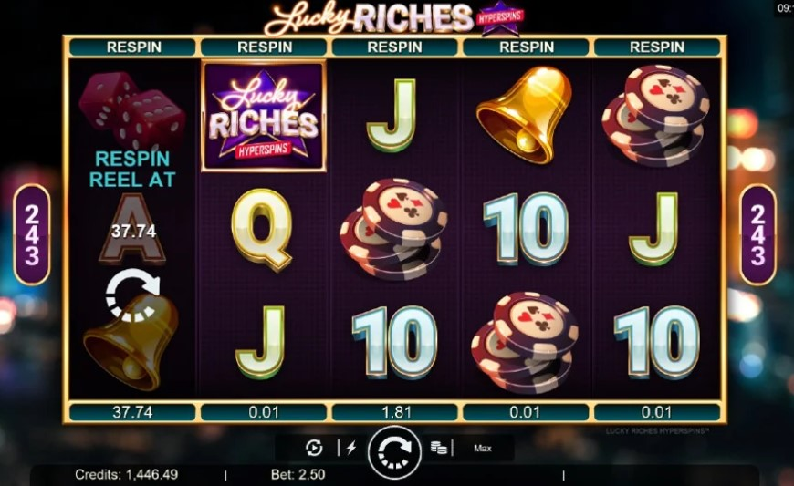 Lucky Riches Slots Online