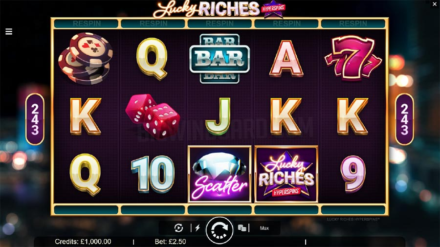 Lucky Riches Slot Game