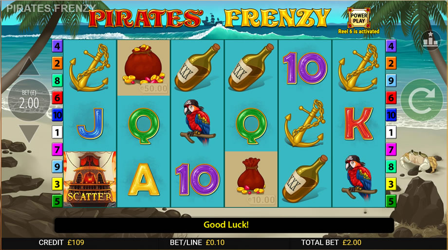 pirates frenzy gameplay