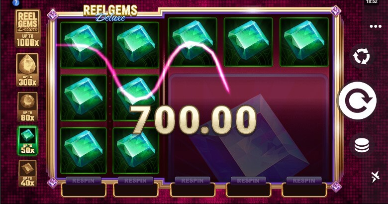 Reel Gems Deluxe Slots Big Win