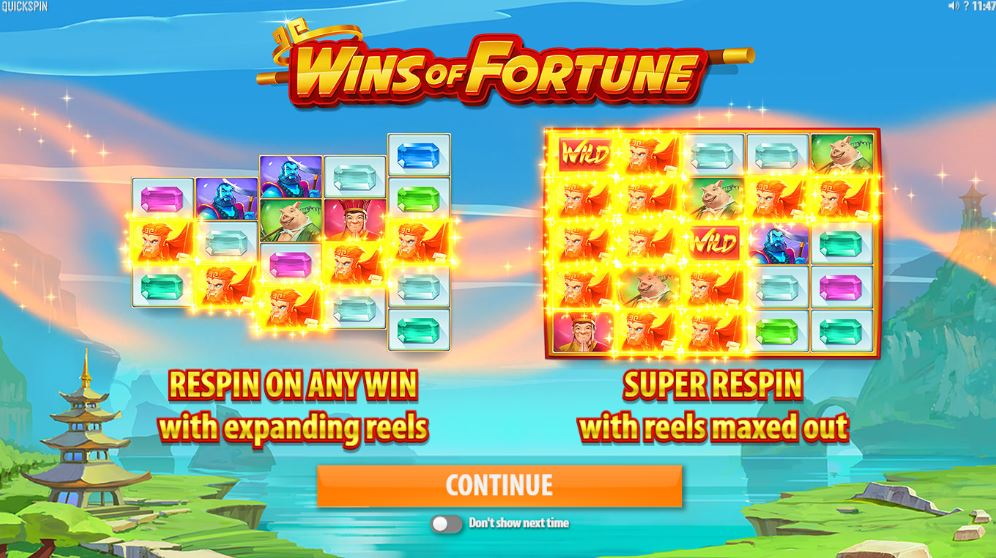 Wins of Fortune Introduction